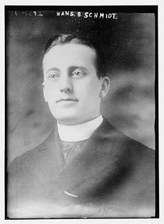 Hans B. Schmidt (died February 18, 1916) was a Roman Catholic priest convicted of murder, and the only one to be sentenced to death in the United States.