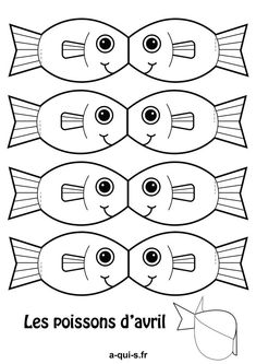 Discover recipes, home ideas, style inspiration and other ideas to try. Sea Crafts, Fish Crafts, Paper Crafts, Diy Embroidery, Embroidery Patterns, Art For Kids, Crafts For Kids, Printable Crafts, Free Printable