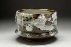 11 x 7 inches. Slipped bowl, cone 10.