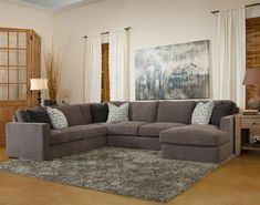 Fairmont Designs Stephan 3 Piece Sectional This Impressive Sectional  Includes A Left Side Corner Sofa, Armless Loveseat And Right Side Chaise. Las  Vegas ...