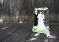 DIY Wedding Crafts : DIY: Wedding Snow Globe