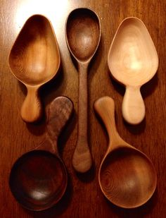 Wooden Spoons by Paul Flatt