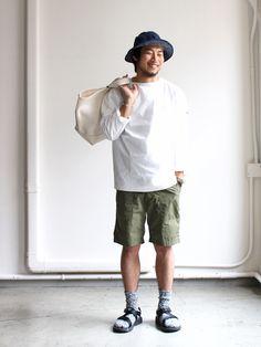 Casual menswear Japan street style