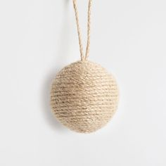 Wrap string around a styrofoam ball....how easy can this be?