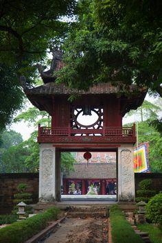 Confucian Temple of Literature, Hanoi, Vietnam
