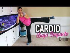 Ejercicios para Embarazadas - Cardio de Bajo Impacto - 10 minutos - YouTube