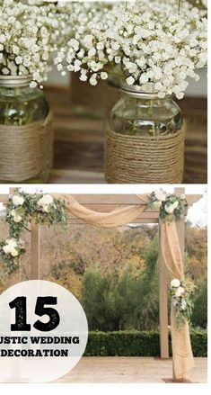 Rustic Wedding Decoration #rusticweddingideas ...ve!Other decorations designed to enhance the aesthetic appeal of the room for example balloons garlands cake stands and various wall hangers.You s...tter than these for allowing people to demonstrate that they are having fun and the pictures you are going to get really delve into the heart of the #thewhitewedding.club #wedding-decorations-modern #weddings