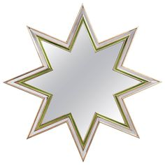 """Eight-Pointed Star """"Etoile"""" Mirror by Maxime Old 