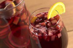 Sangría de vino tinto, refrescante y deliciosa