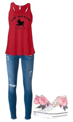 """""""Untitled #28"""" by carver778 on Polyvore featuring Frame Denim and Converse"""