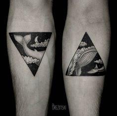 tatouage baleine triangle - Recherche Google