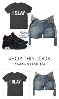 """""""Slay"""" by miaxo-xo ❤ liked on Polyvore featuring New Look"""