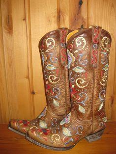 Rivertrail Mercantile - Old Gringo Deborah Rico Boots, $630.00 (http://www.rivertrailmercantile.com/old-gringo-deborah-rico-boots/)