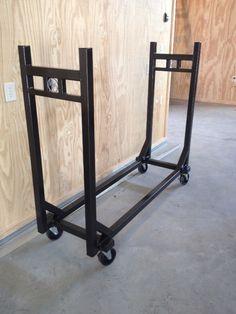 firewood storage on wheels - hemantools.com