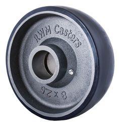Urethane on Iron Wheels, Premium PTMEG Urethane Non-marking Wheels - RWM Casters Diy Welding, Tool Shop, Wheels, Iron, Tools, Projects, Log Projects, Instruments, Blue Prints