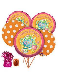 balloons    #AliceinWonderland #Alice #Party #KidsParty #Wonderland #TeaParty #TeaPot #Balloons #TeaBalloons