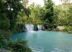 #Siquijor, l'île mystique des #Philippines (Cambugahay Falls)