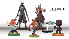 """Just 1 More Level: PlayStation """"Totaku"""" Figures Announced"""