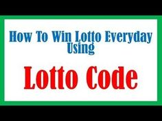 Lotto Numbers For Today, Lotto 649 Winning Numbers, Picking Lottery Numbers, Lucky Numbers For Lottery, Lotto Lottery, Lottery Strategy, Lottery Tips, Lotto Winners, Lottery Winner