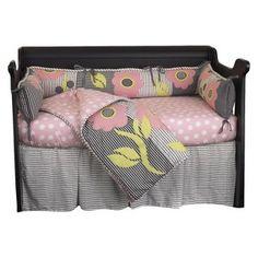 Cotton Tale Poppy 4 Piece Crib Bedding Set