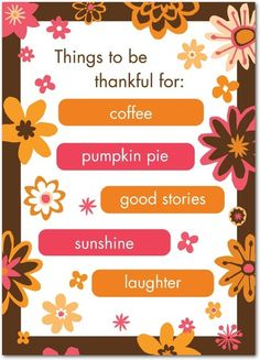 Bold Blessings - Happy Thanksgiving Greeting Cards from Treat.com