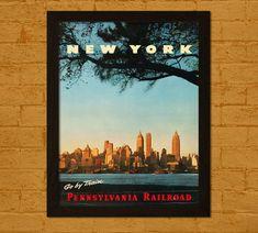 Acheter 2 GET 1 FREE New York voyage affiche par VoyagesVoyages