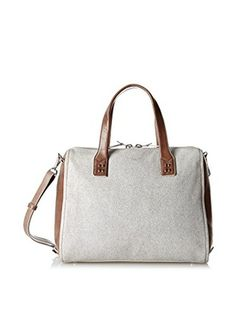 Olivia Harris Women's Hunger Smiths Satchel (Grey)