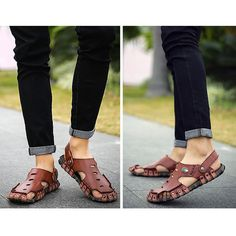 876ae8436a003 Brand  No Shoe Type  Sandals Toe Type Round Toe Closure Type  Slip On  Gender  Male Occasion  Casual