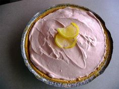 Crystal Light No Bake Lemonade Pie  2 (1 ounce) boxes sugar-free instant vanilla pudding mix  2 1/2 cups milk  1 (1 ounce) container Crystal Light sugar free low calorie lemonade mix	 (the small tubs that makes 2 quarts of drink)  16 ounces Cool Whip, thawed  2 graham cracker pie crust    Read more at: http://www.food.com/recipe/crystal-light-no-bake-lemonade-pie-318468?oc=linkback