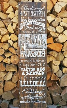Krétatábla Positive Thoughts, Positive Vibes, Home Signs, Pyrography, Coffee Shop, Chalkboard, Best Quotes, Diy And Crafts, Mandala