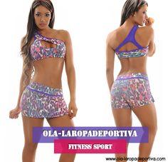 OLA-LAROPADEPORTIVA te ofrece comodidad y elasticidad, además diseños que se ajustan a tu cuerpo como una segunda piel. http://www.ola-laropadeportiva.com/shorts-y-faldas/61-onjunto-deportivo-faldashort-y-top-estampado.html #Fitnness #Sport #Comodidad #Diseños #Calidad #Elasticidad #Disciplina #Deportiva