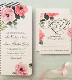 42 best wedding invitations images on Pinterest | Invitations, Ideas ...