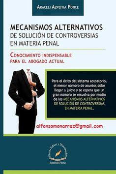 LIBROS EN DERECHO: MECANISMOS ALTERNATIVOS DE SOLUCIÓN DE CONTROVERSI...