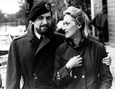 Robert De Niro and Meryl Streep in The Deer Hunter directed by Michael Cimino, 1978 Al Pacino, Meryl Streep, Robert Duvall, Robert Redford, Michael Keaton, Bradley Cooper, Hollywood Actor, Hollywood Stars, Best Actress