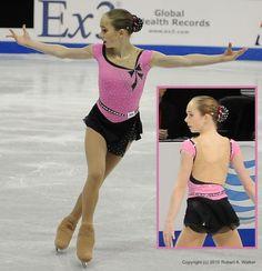 Katarina Kulgeyko's Love Story short program costume at the 2010 Novice US National Championships.