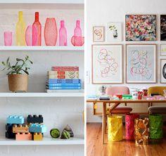 neon color decoración decoration interior lego muebles mobiliario furniture miraquechulo