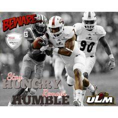 ULM Defensive Back Mitch Lane #7 PSMOTIVATE