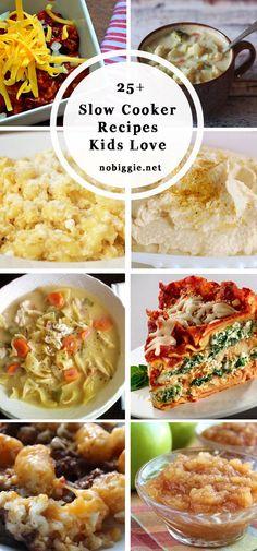 25 slow cooker recipes for kids | NoBiggie.net