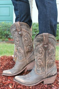 I very much like!!!! Liberty Black Vintage Canela Cowgirl Boot