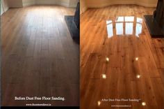 Check out this Before and After Shot of our Dust Free Floor Sanding Service! No Mess, No Fuss, just a Fabulous Floor Solid Wood Flooring, Hardwood Floors, Thinking Of You, Showroom, Check, Blog, Patches, Xmas, Free