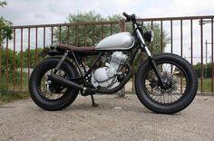 """beforetheride: """"Suzuki GN250 brat style  #bikers #btr #bikersofinstagram #suzuki #gn250 #custom #beforetheride """""""