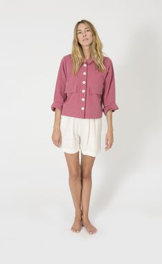 Mabel Crop Jacket, R