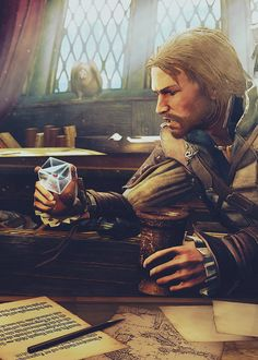 Edward Kenway. Assassin's Creed IV Black Flag