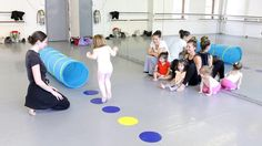 "http://www.joffreyballetschool.com | Dance With Me – (Ages 2 to 3) |  This class has been specially designed for 2–3yr olds who are not yet comfortable being in a class alone, each child is joined in the class by a parent or caregiver who will be the child's ""dancing partner"". Through movement exercises, games, stories and other activities, the very young are introduced to the joy of creative movement in a fun, musical setting. Live piano accompaniment provides an enriching and stimulating…"