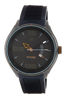 Men's Chase Sport Stainless Steel Watch by Tommy Hilfiger on @HauteLook