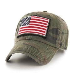 Operation Hat Trick Movement Sandalwood 47 Brand Adjustable USA Flag Hat d063f158f4