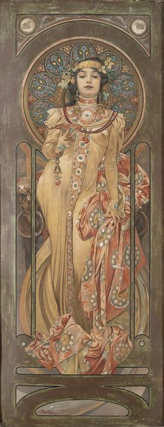 Art and Salt — Unknown - Alphonse Maria Mucha