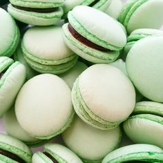 PISTACHIO MACARONS by SwallowMyWords.com