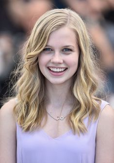 "Angourie Rice Photos - Actress Angourie Rice attends ""The Nice Guys"" photocall during the annual Cannes Film Festival at the Palais des Festivals on May 2016 in Cannes, France. - 'The Nice Guys' Photocall - The Annual Cannes Film Festival Blonde Actresses, Young Actresses, Female Actresses, Vegan Fried Rice, Kimchi Fried Rice, Blonde Hair Blue Eyes, Blonde Curly Hair, Actrices Blondes, Rice Cakes Healthy"