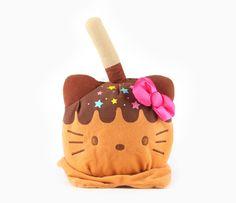 Hello Kitty Reversible Plush: Caramel Apple
